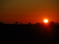 Bei Sonnenaufgang geht es nochmals weiter.